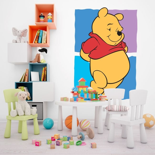 Vinyl and stickers winnie the pooh