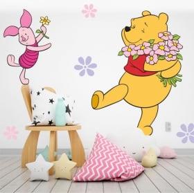 Vinyl children's walls winnie the pooh