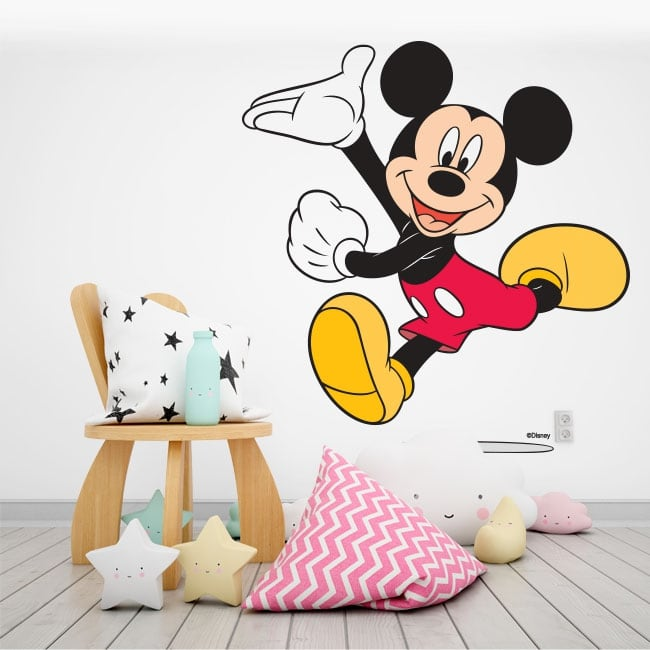 Children's stickers disney mickey mouse