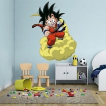 Children's vinyl dragon ball son goku