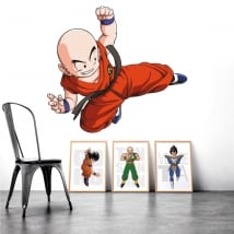 Adhesive vinyl and stickers dragon ball krilin