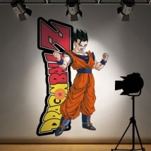 Adhesive vinyl y stickers dragon ball z