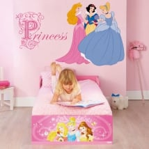 Adhesive vinyl and stickers disney princesses