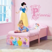 Children's stickers disney princesses