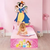 Decorative vinyl disney snowwhite