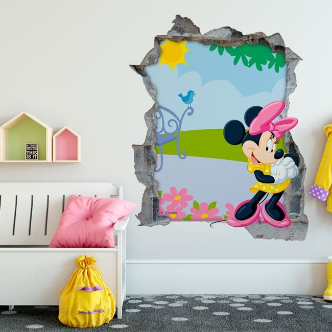 Wall stickers minnie mouse disney 3d