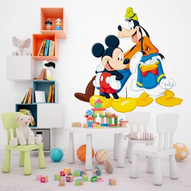 Decoration vinyl disney characters