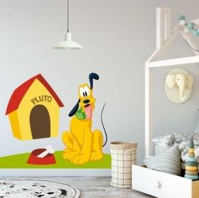 Children's decoration vinyl disney pluto