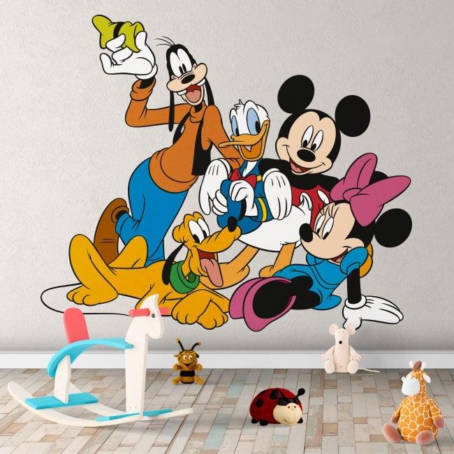 Vinyl children's decoration disney characters