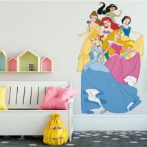 Adhesive vinyl princesses of disney