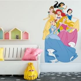 Adhesive vinyl princesses of disney