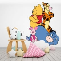 Adhesive vinyl and stickers disney winnie the pooh