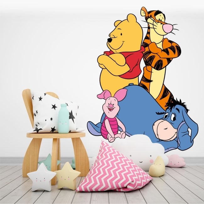 Adhesive vinyl and stickers disney winnie the pooh