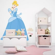 Vinyl and stickers disney cinderella
