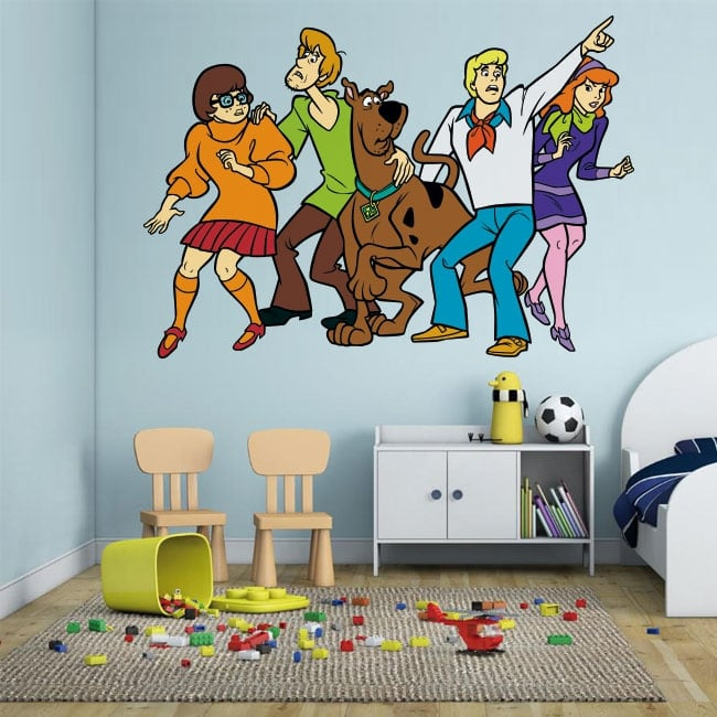 Vinyl adhesives and stickers scooby doo