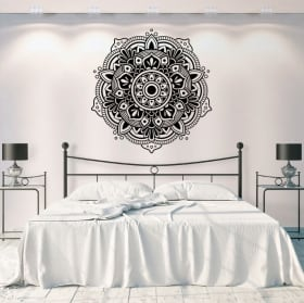 Decorative vinyl and stickers mandalas