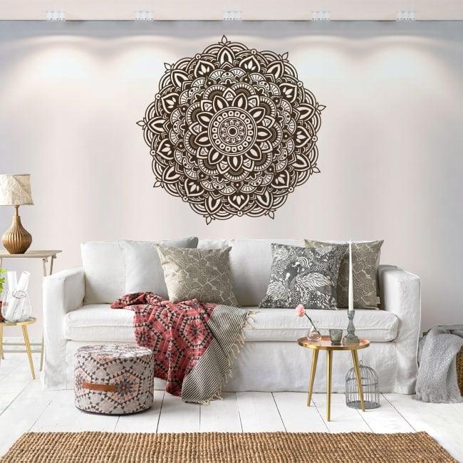 Adhesive vinyl decoration mandalas