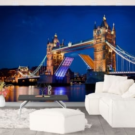 Wall murals vinyl london tower bridge