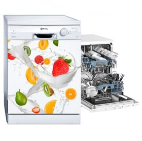 Vinyls and stickers fruits for dishwashers