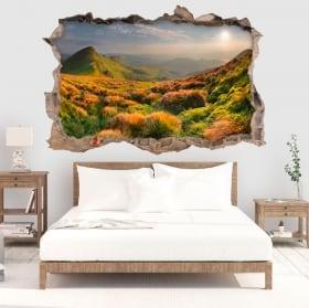 Walls stickers Colorado mountains river 3D