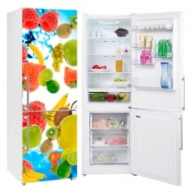 Vinyl fruits decoration fridges