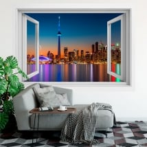 Vinyl windows canada colors sunset 3d