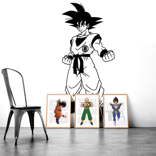 Adhesive vinyl and stickers dragon ball