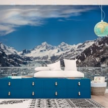 Wall murals alaska glacier bay national park