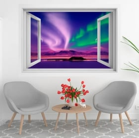 Vinyl windows sunset in alaska 3d