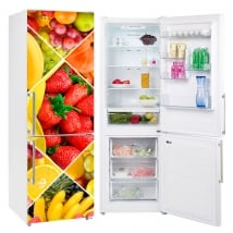 Decorative vinyl for refrigerators