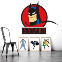 Decorative vinyl and stickers from batman