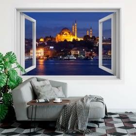 Vinyl windows istanbul suleiman mosque 3d