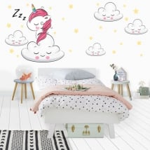 Vinyl and stickers unicorn sweet dreams