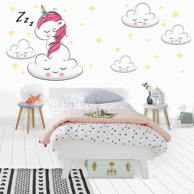 Vinyl and stickers unicorn sweet dreams