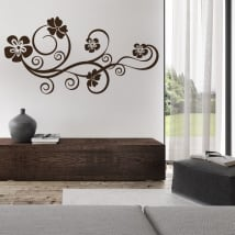 Decorative vinyl flowers to decorate
