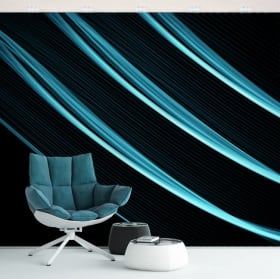 Wall murals colorful strokes