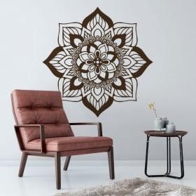 Decorative vinyl and stickers indian mandala