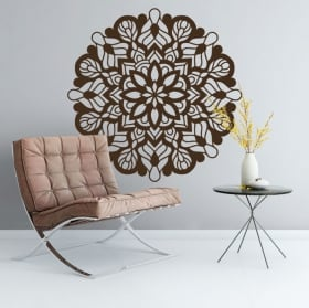 Decorative vinyl indian mandala