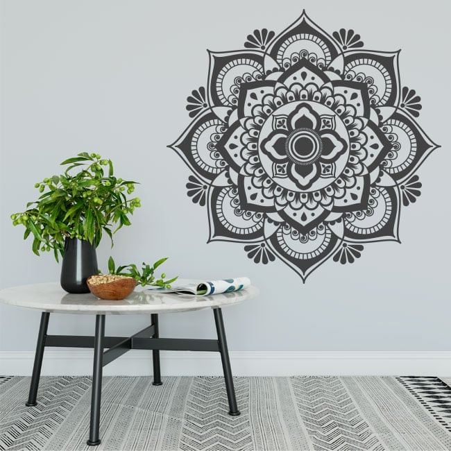 Vinyl stickers indian mandala