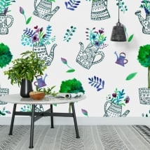 Murals to decorate walls and objects yard