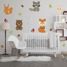 Vinyl and stickers children's animals