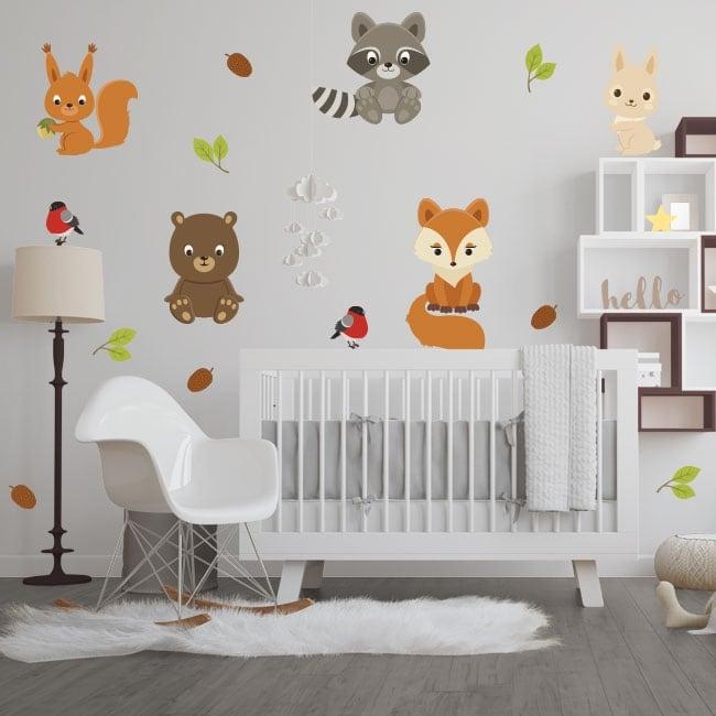 Vinyl and stickers children's animals