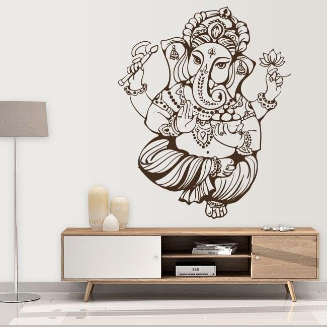 Decorative vinyl and stickers ganesha