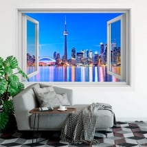 Vinyl windows city of toronto canada 3d