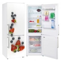 Decorative vinyl fruits to decorate refrigerators