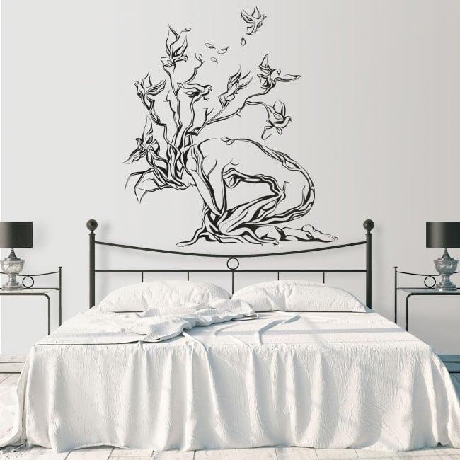 Decorative vinyl the tree of life