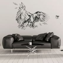 Decorative vinyl and stickers eagle