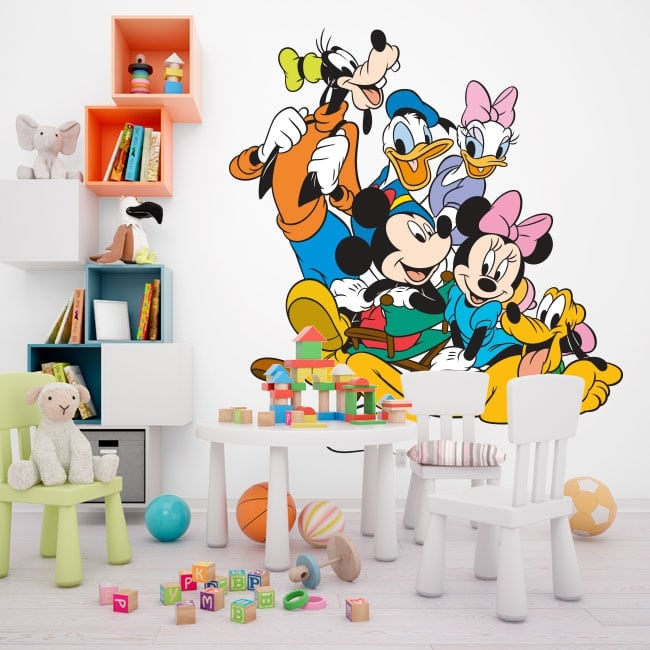 Vinyl and children's stickers disney characters