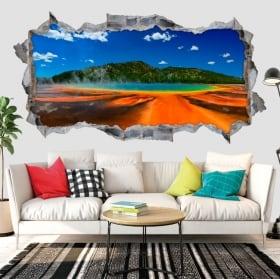 Decorative vinyl waterfalls tasmania russell 3d