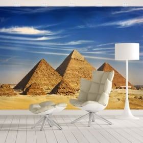 Vinyl wall murals pyramids of giza